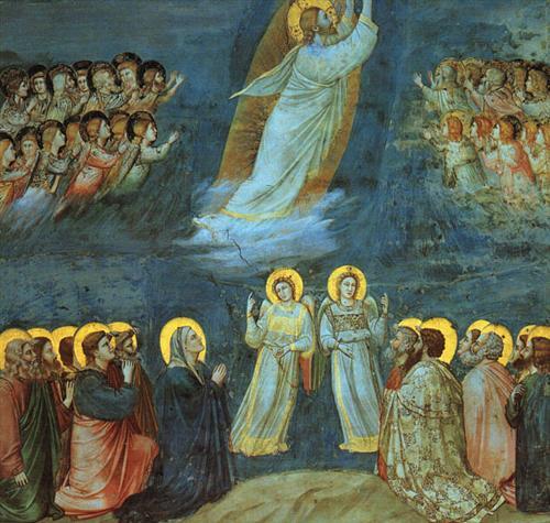 The Ascension by Giotto, circa 1305